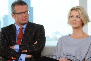 Marcin Meller i Magda Mołek