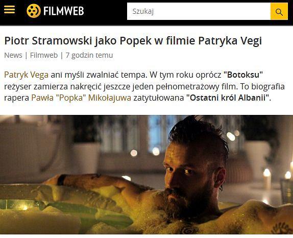 Piotr Stramowski jako Popek