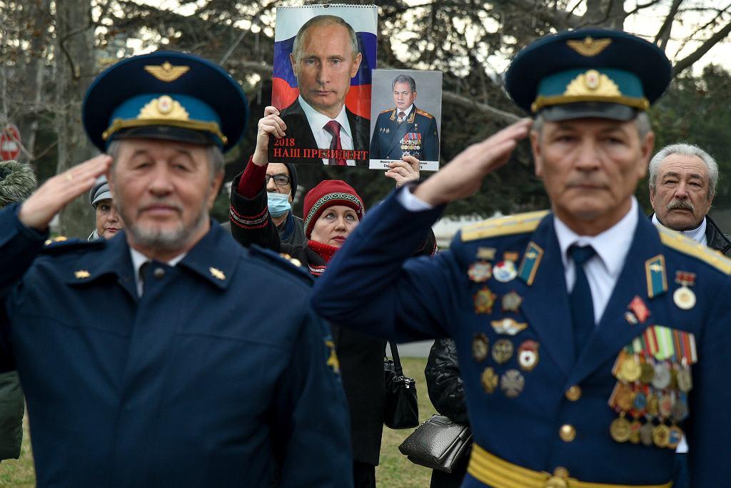 Obchody Dnia Obrońcy Ojczyzny w Rosji.