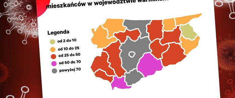 Warmińsko-mazurskie najmocniej dotknięte pandemią. Dlaczego akurat ono? Szukamy tropów