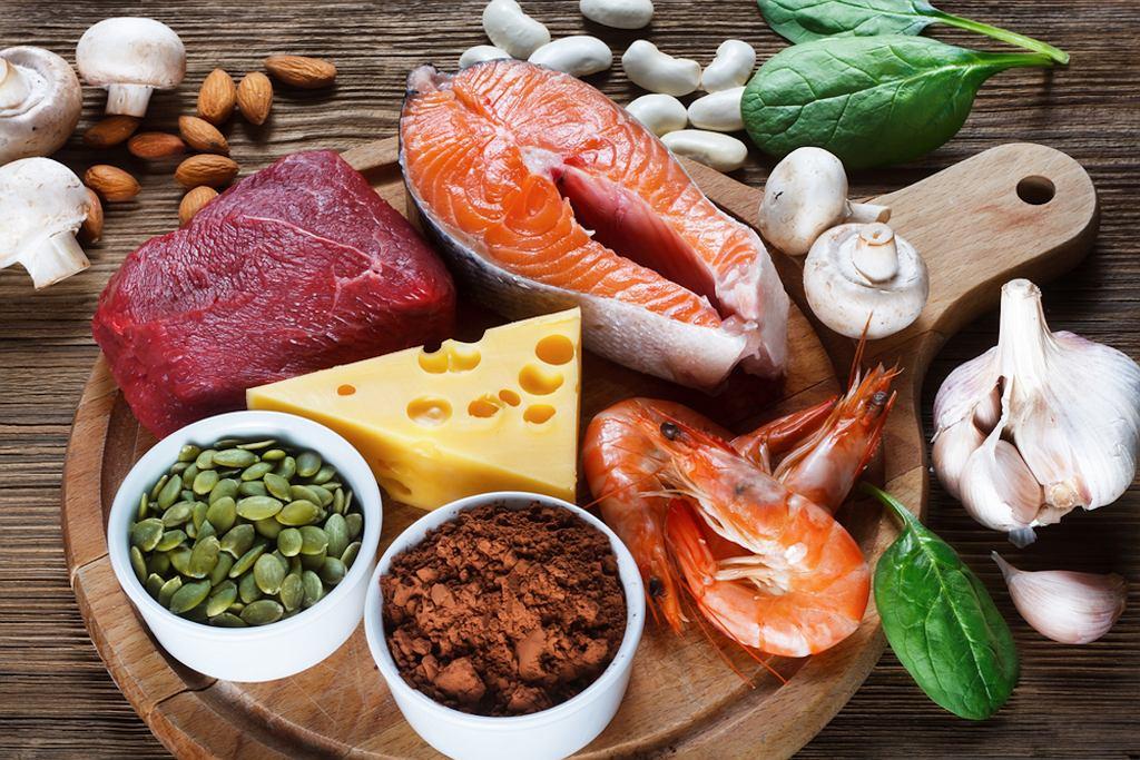 Cynk pochodzący z produktów zwierzęcych jest lepiej przyswajany niż cynk pochodzący z produktów roślinnych.