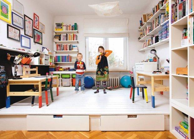 Pokój rodzeństwa: mała scena