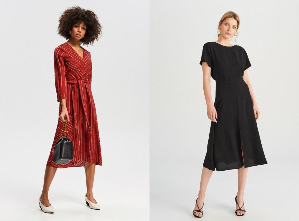 Sukienki Reserved z wyprzedaży