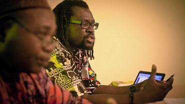 Larry Okey Ugwu i Mamadou Diouf z fundacji Afryka Inaczej