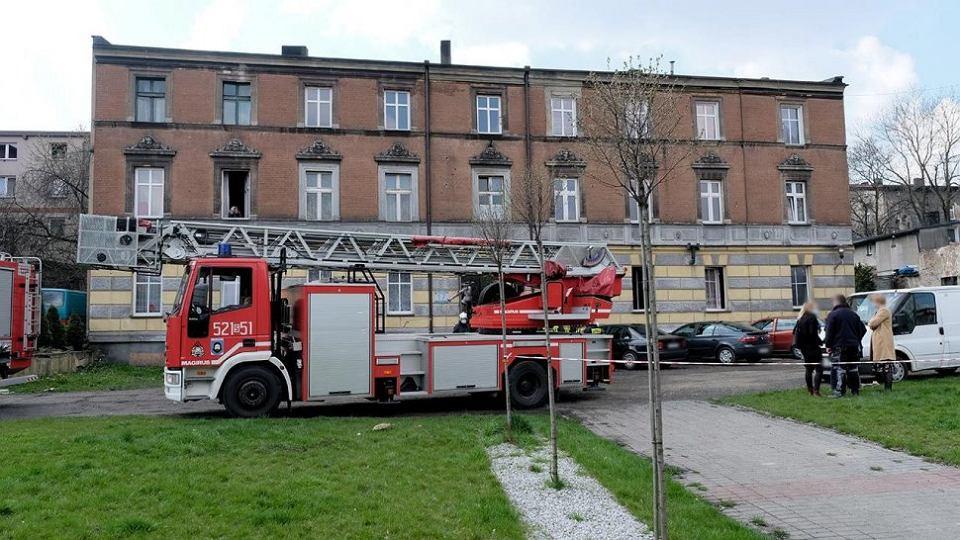 W pożarze w Mysłowicach zginął 72-latek