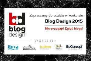 Konkurs Blog Design 2015. Weź udział!