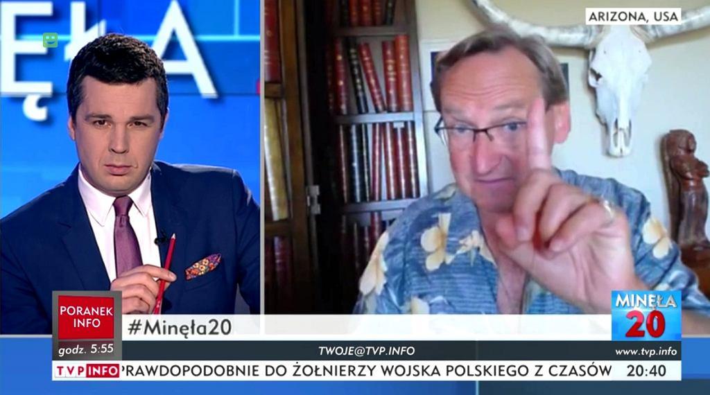 Wojciech Cejrowski w programie Michała Rachonia w TVP