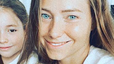 Agata Rubik z córkami