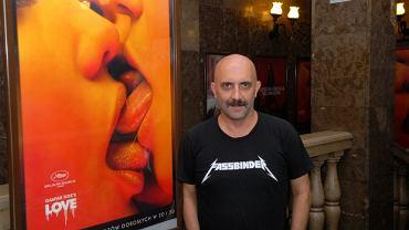 """Gaspar Noé - reżyser filmu """"Love"""" (fot. Gutek)"""