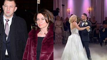 Córka Tomasza Adamka już po ślubie. Goście bawili się w zamku w New Jersey. W sieci pojawiło się wideo z uroczystości