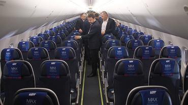 Najnowszy nabytek PLL LOT-u: samolot Boeing 737 Max 8