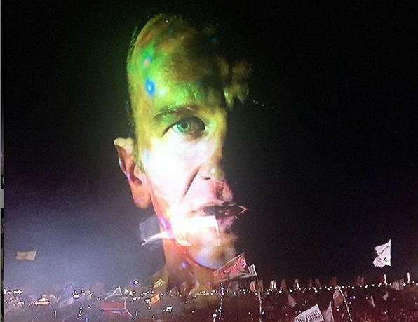 Tomasz Kot na koncercie Chemical Brothers podczas Glastonbury