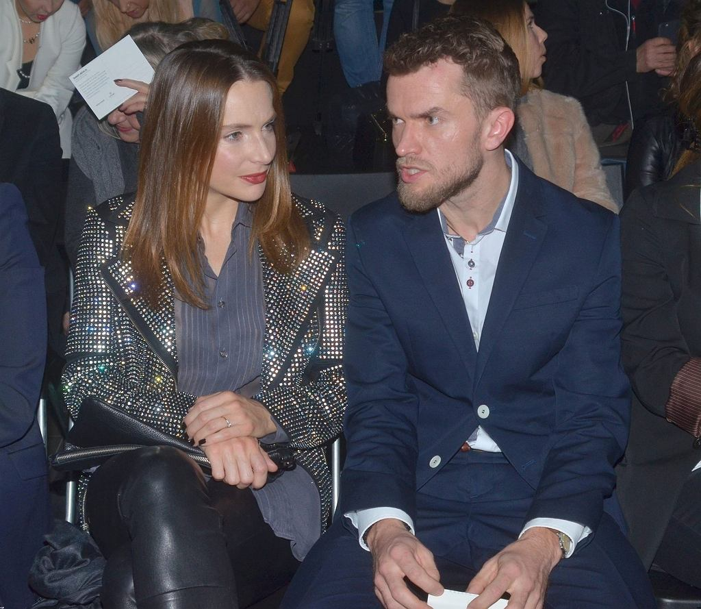 Anna Dereszowska i jej partner, Daniel Duniak