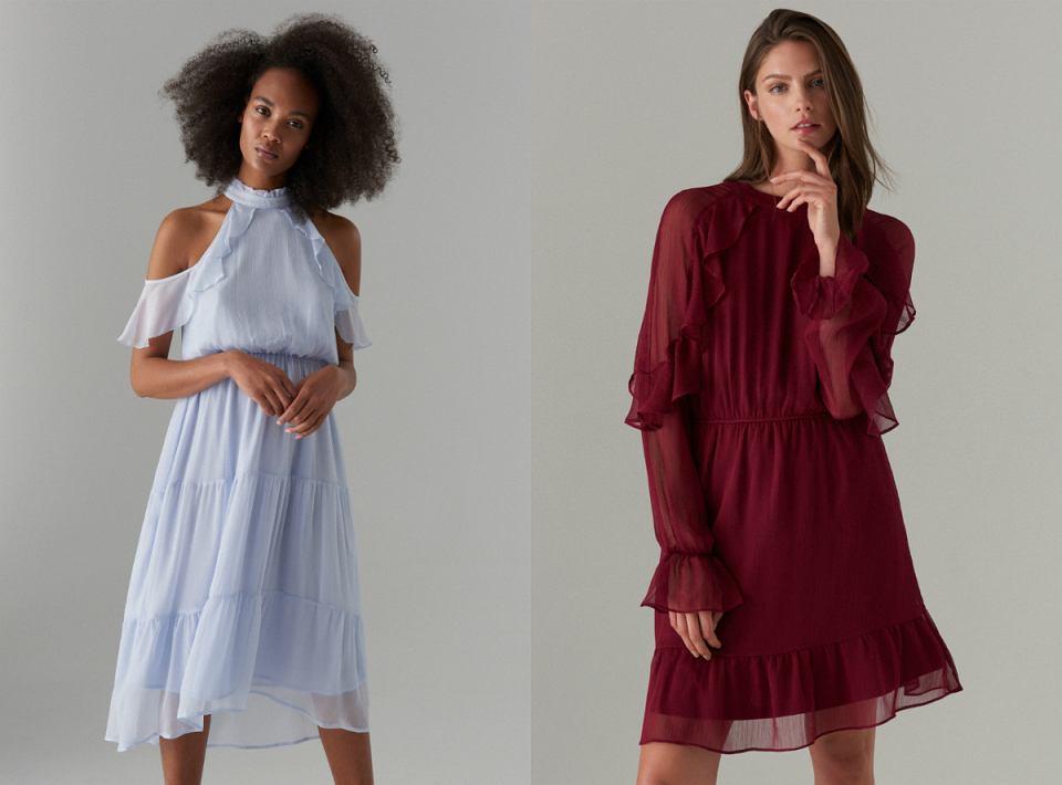 Sukienki szyfonowe na każdą okazję