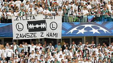 Kibice na Żylecie - Legia Warszawa