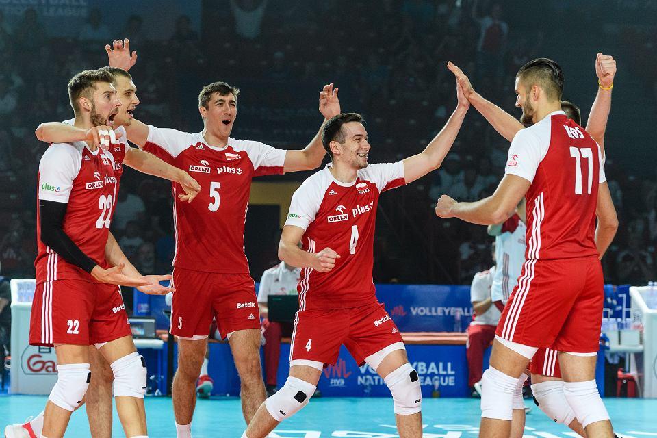 Polska - Brazylia 3:0, Liga Narodów siatkarzy