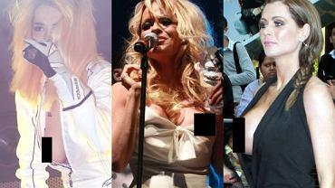 Rita Ora, Pamela Anderson, Nicola McLean.