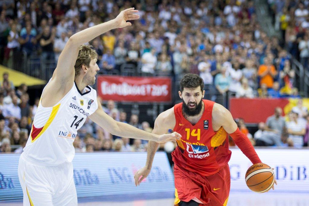 Hiszpania - Niemcy, koszykówka
