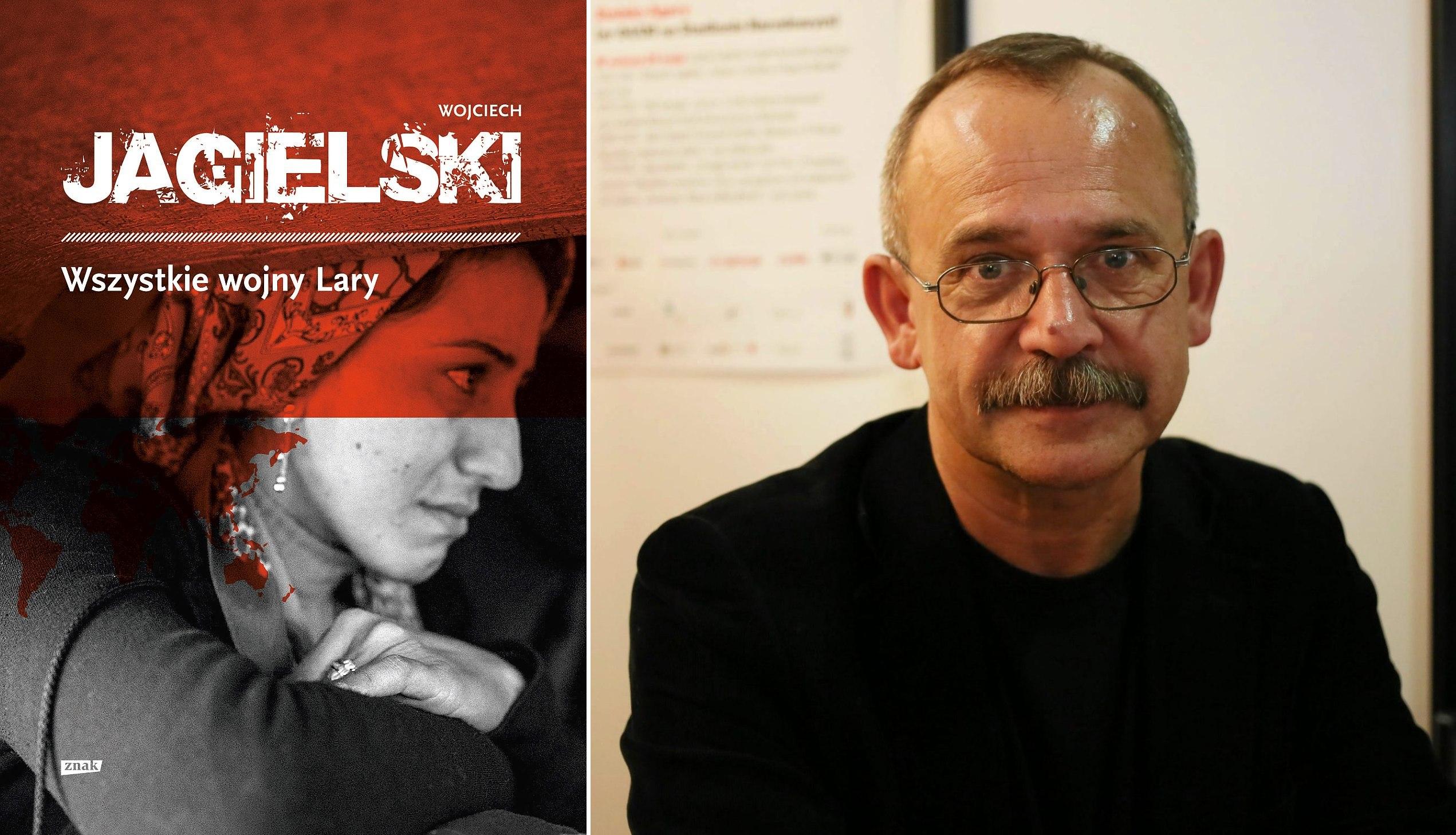 Wojciech Jagielski na Warszawskich Targach Książki (fot. Agata Grzybowska / Agencja Gazeta)