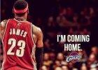 NBA. LeBron James wybrał dom, ale idzie w nieznane