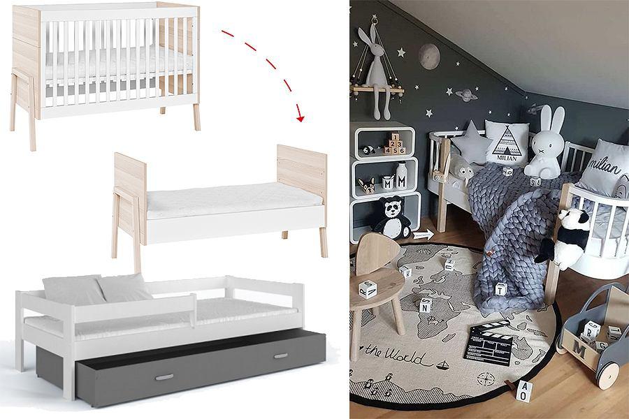 Łóżeczko dla dziecka w stylu skandynawskim