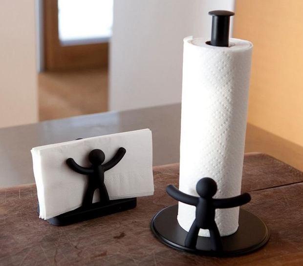 Zabawny stojak na ręcznik papierowy