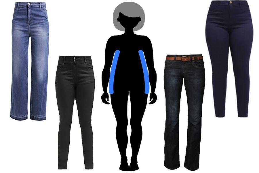 Idealny jeansy dla Jabłka