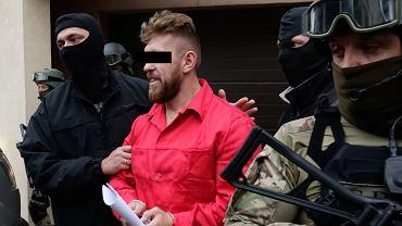 Paweł. M. po przesłuchaniu w krakowskiej prokuraturze
