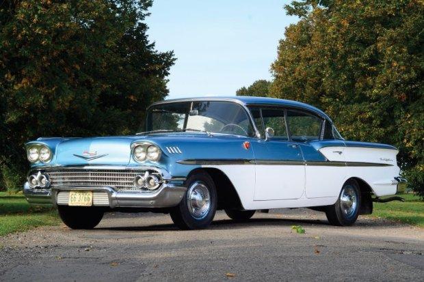 1958 Chevrolet Bel Air sedan