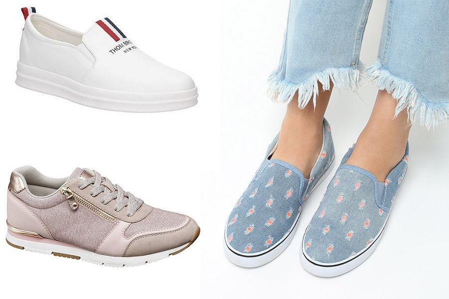 Trampki i buty typu slip on