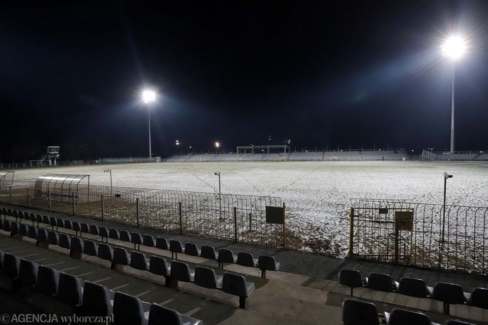 Raków Częstochowa Oświetlenie Na Stadionie Już Działa Zdjęcia