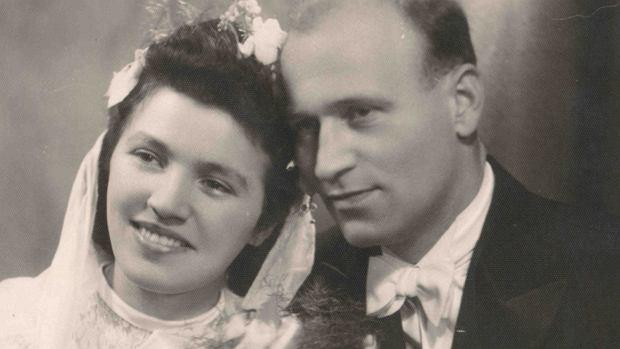 Pani Stanisława Stwora z mężem