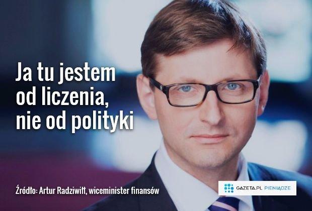 Artur Radziwiłł broni nowego programu PO