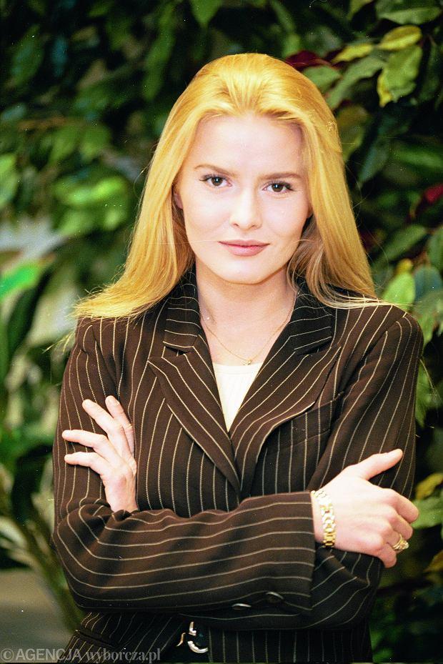Hanna Lis (wtedy Smoktunowicz) w 1995 roku.