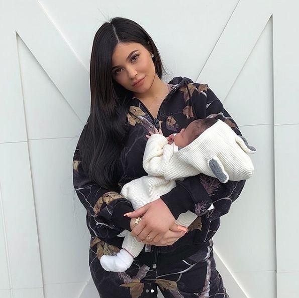 Ciąża Kylie Jenner
