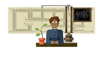 Jagadish Chandra Bose - Google Doodle