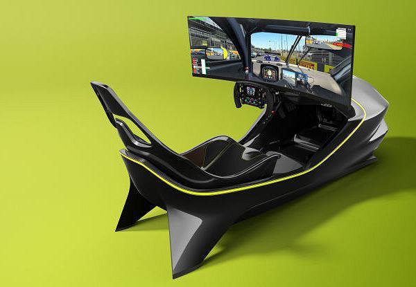 Symulator Aston Martina za 74 tysiące dolarów