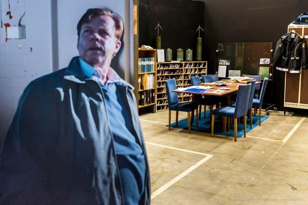 Filmowy Kurt Wallander i wnętrze posterunku policji w Ystad Studios