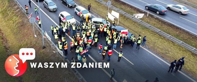 Protesty rolników dzielą Polaków [WASZYM ZDANIEM]