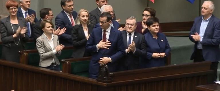 Sejm nie poparł wniosku o wotum nieufności dla rządu Morawieckiego