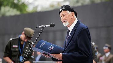 Prof. Leszek Żukowski 'Antek', prezes Zarządu Głównego Światowego Związku Żołnierzy AK