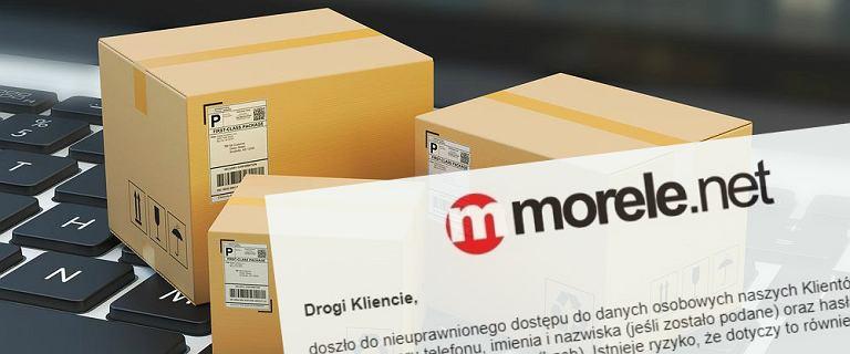 Baza klientów morele.net trafiła do sieci. Wypłynęły dane 2,5 mln osób