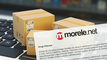 Wyciekły dane klientów Morele.net
