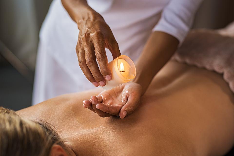 Świeca do masażu