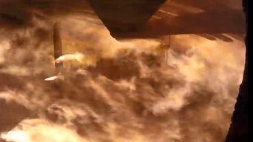Główny Instytut Górnictwa pokazał nagranie pokazujące wybuchu metanu w kopalni.