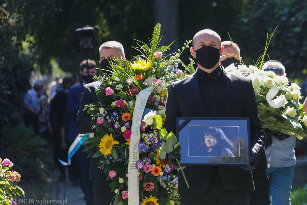 Pogrzeb Ewy Demarczyk, 2021