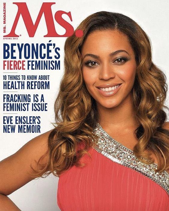 Beyonce na okładce 'Ms.'