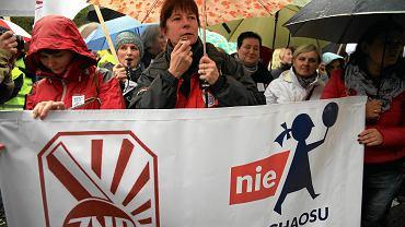 Protest pod szyldem ZNP