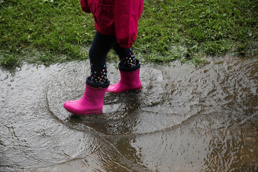Intensywne opady deszczu na Podkarpaciu