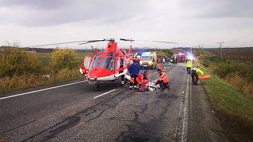 Wypadek autokaru na Słowacji